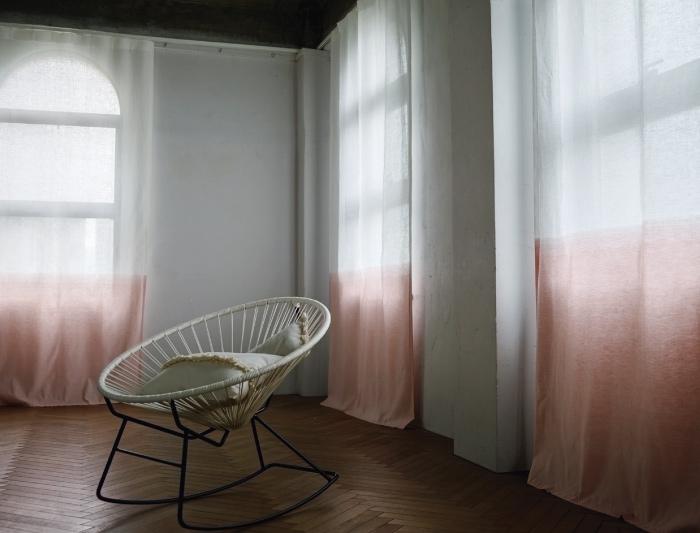 フジエテキスタイル 草木染めカーテン MAITO