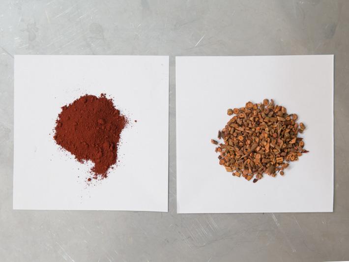 草木染めについて 「顔料と染料の違い」