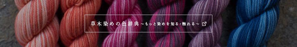 草木染の色辞典