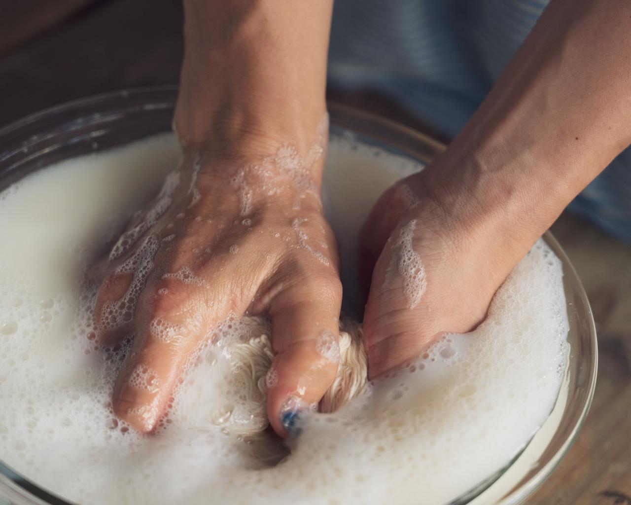 大豆 豆汁処理 濃染処理